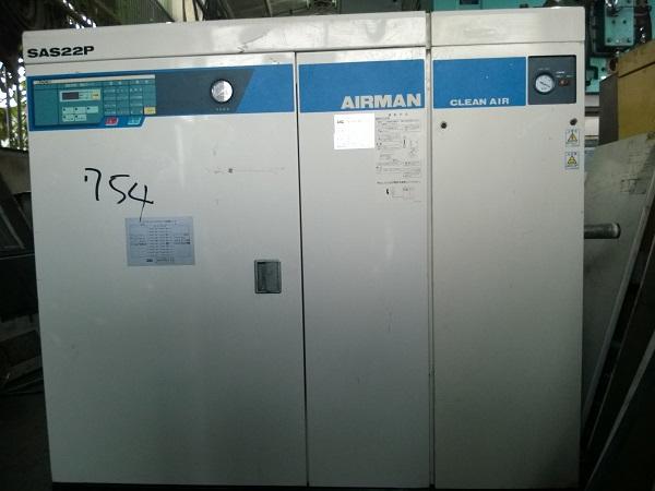 máy nén khí trục vít airman 22 kw