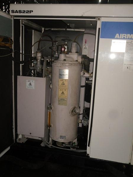 bán máy nén khí trục vít cũ airman