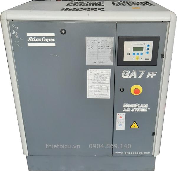 bán máy nén khí châu âu atlas copco 7.5 kw 10 hp có sấy khí