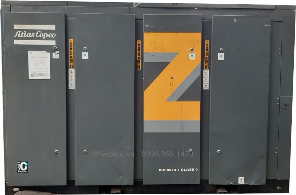 bán máy nén khí trục vít không dầu 160 kW atlas copco ZT 160 hàng nhập khẩu Nhật Bản used air compressor EU Japan