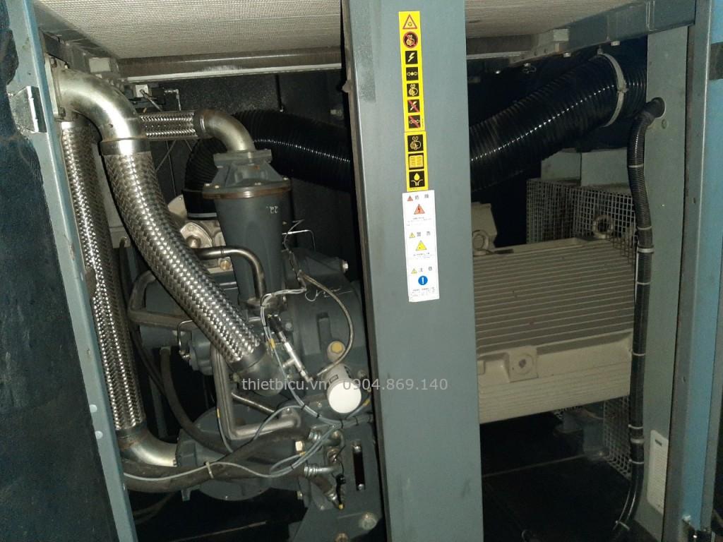 máy nén khí cũ Atlas Copco ZT160 used air compressor oil free