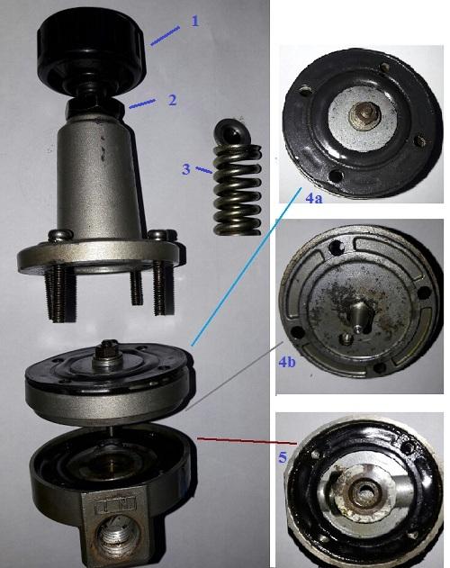 cấu tạo van điều chỉnh áp suất máy nén khí trục vít
