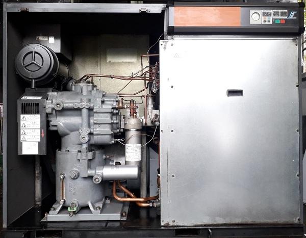 bán máy nén khí cũ 75hp hitachi