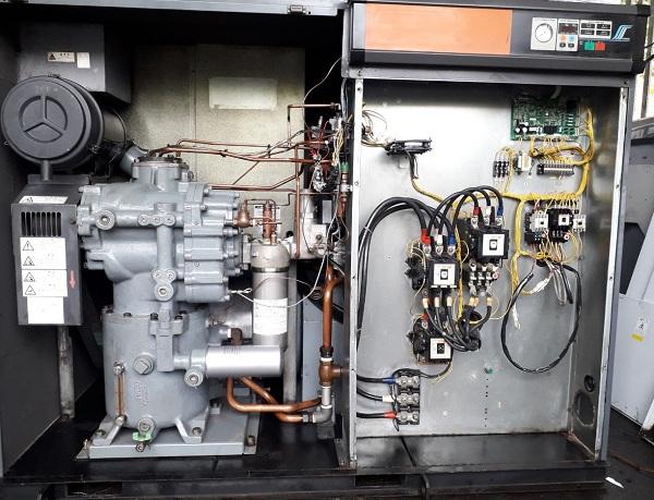 bán máy nén khí hitachi 55 kw