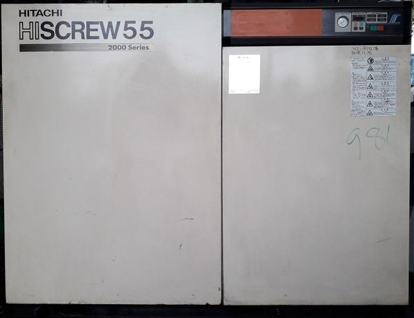 bán máy nén khí cũ trục vít 55 kw có sấy khí osp-55M5ARI