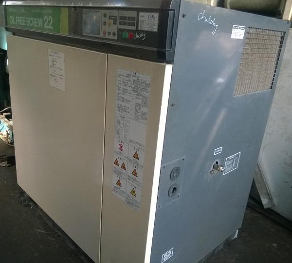 máy nén khí trục vít không dầu 30 Hp