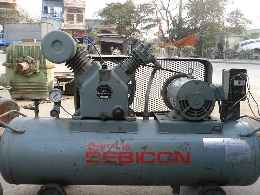 máy nén khí piston, may nen khi cu, máy nén khí hitachi