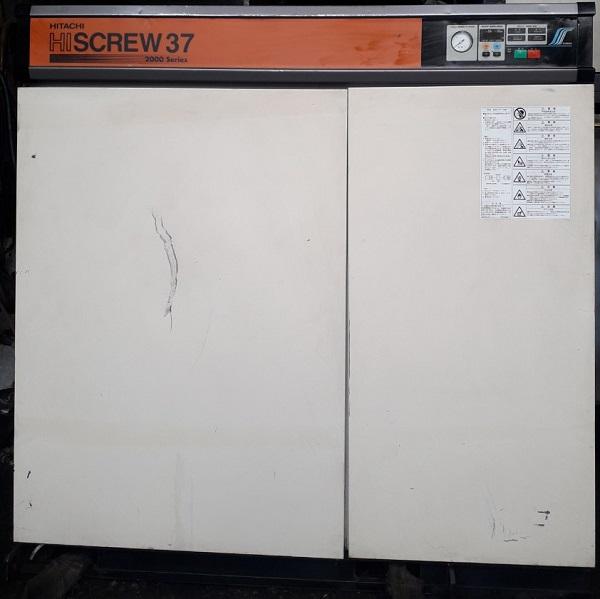 Bán máy nén khí Hitachi Hiscrew 37 2000 series 37 kw, 50 hp, có sấy khí tách ẩm