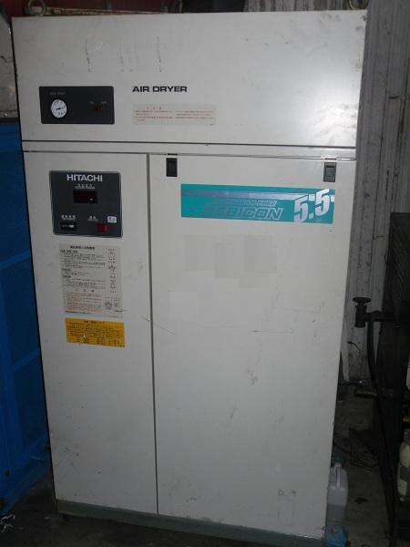 máy nén khí cũ không dầu Hitachi oilfree