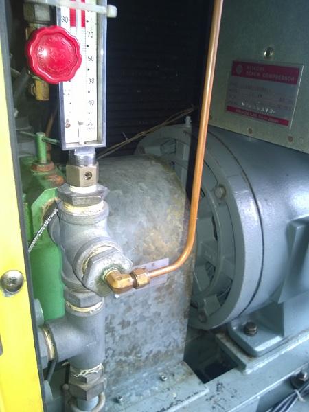 bán máy nén khí trục vít Hitachi Hiscrew 100 Hp làm mát bằng gió