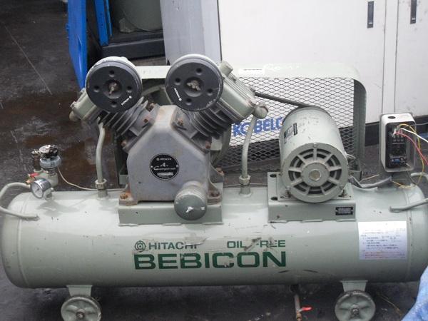 Bán máy nén khí không dầu cũ Hitachi 2.2kw may nen khi cu khong dau