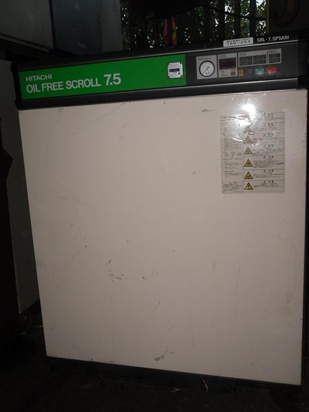 máy nén khí trục vít không dầu dạng cuộn