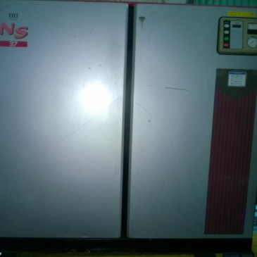 Máy nén khí trục vít IHI 37 kW có tách dryer