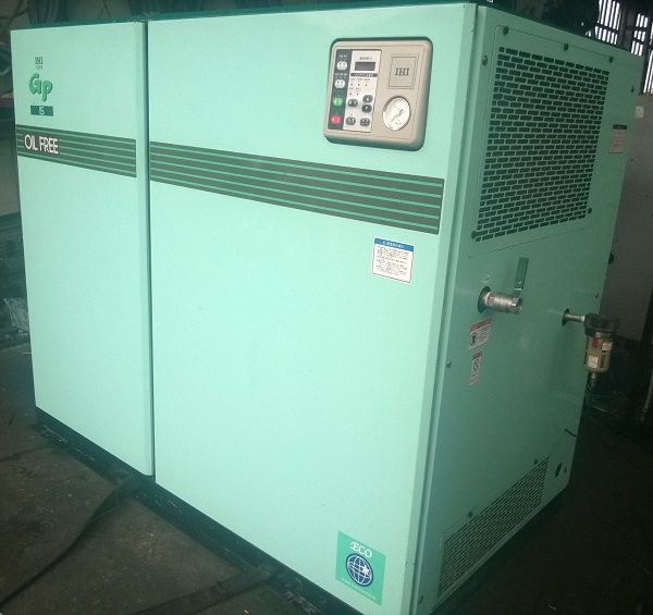 IHI water-flooded screw compressor oilfree 15 kW GP