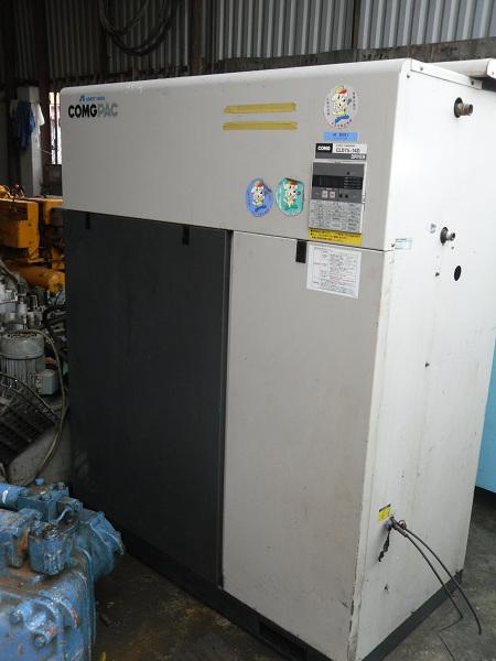 máy nén khí cũ Iwata công suất 10 ngựa