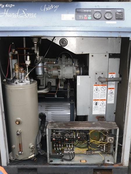 Máy nén khí trục vít Kobelco 22kw đã qua sử dụng nhập khẩu Nhật Bản