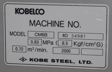 Tem máy nén khí trục vít kobelco