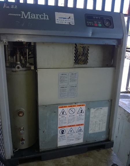 máy nén khí cũ nhật bản