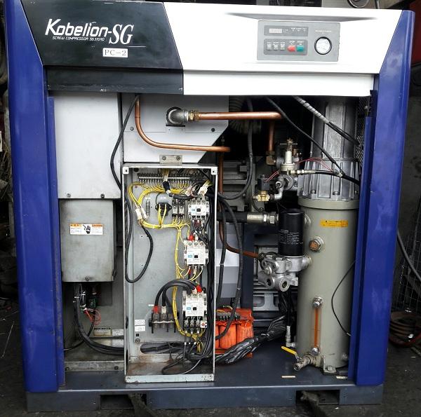bán máy nén khí cũ Kobelco đời cao