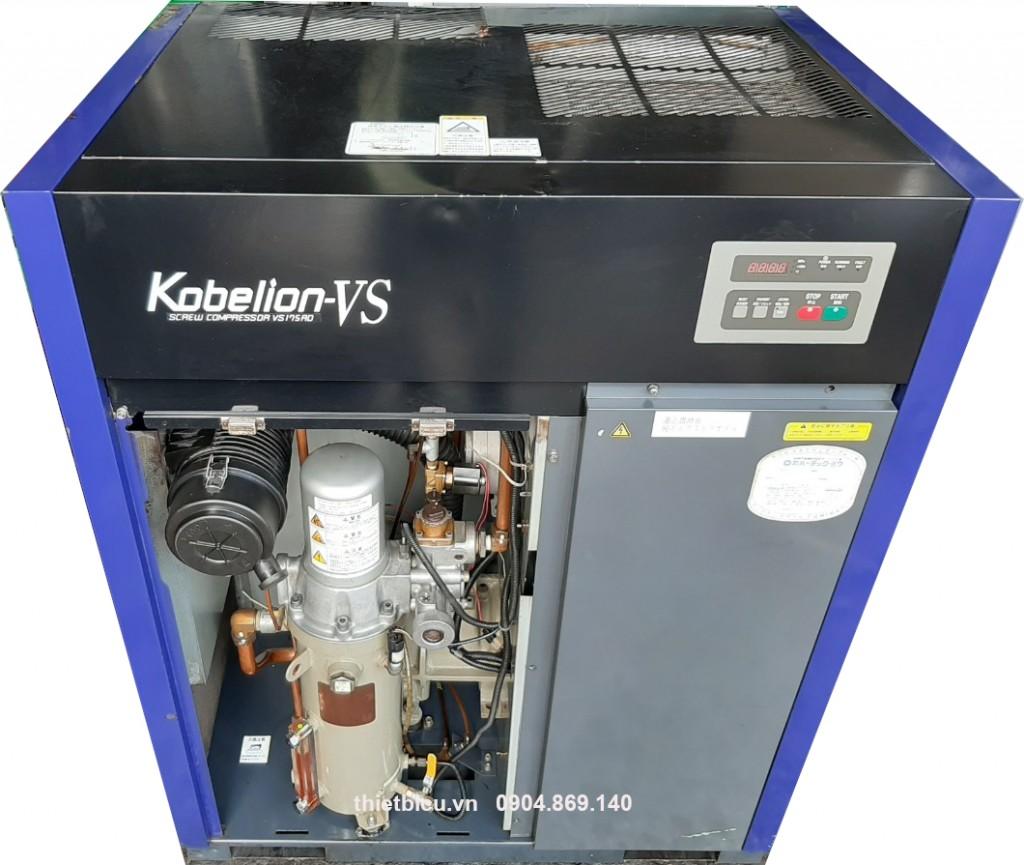 máy nén khí biến tần 11 kw hàng Nhật Bãi japan used air compressor