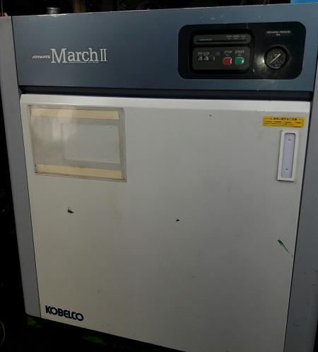 máy nén khí trục vít cao áp 13 kgf/cm2 nhật bản