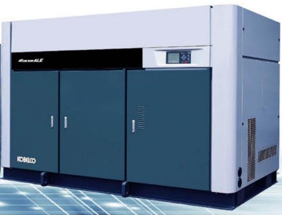 bán máy nén khí trục vít Kobelco không dầu 132 kW