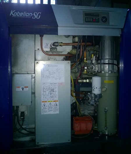 máy nén khí Kobelco cũ đời cao