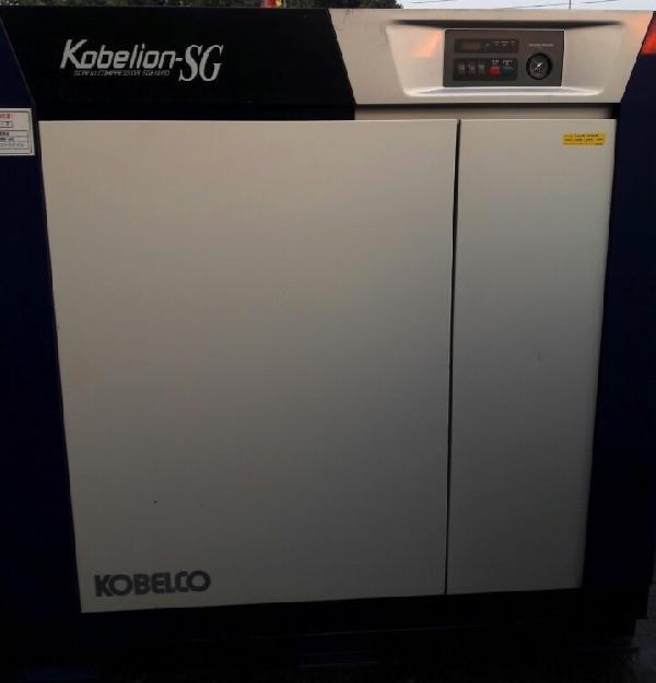 máy nén khí trục vít cũ Kobelco Kobelion SG610AD