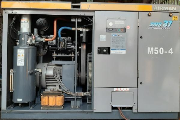 Bán máy nén khí cũ Airman 37 kW SMS37 dòng ngoài trời, hàng chất lượng