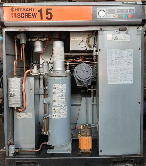 bán máy nén khí Hitachi 15 kw cũ có sấy hàng Nhật Bản