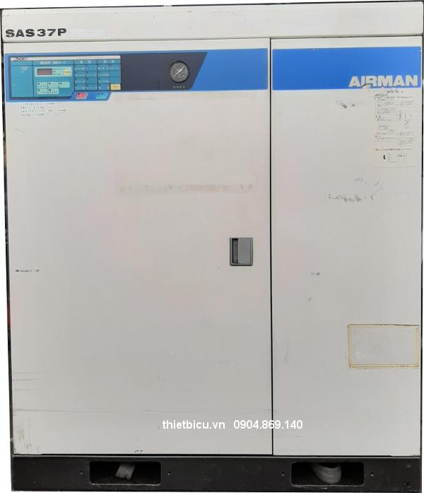 bán máy nén khí cũ Japan used air compressor Airman SAS37P