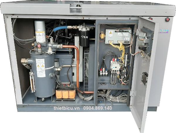 máy nén khí chất lượng cao Nhật Bản 15 kw 20 hp giao toàn quốc bảo hành dài hạn