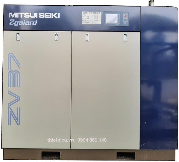 bán máy nén khí cũ 37 kw 50 Hp Mitsui seiki Zgaiard ZV37AS4i-R hàng đời cao, giá rẻ, bảo hành toàn quốc, giao hàng nhanh