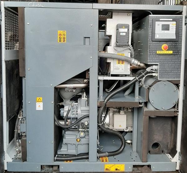 bán máy nén khí không dầu 22 kw có sấy đời cao