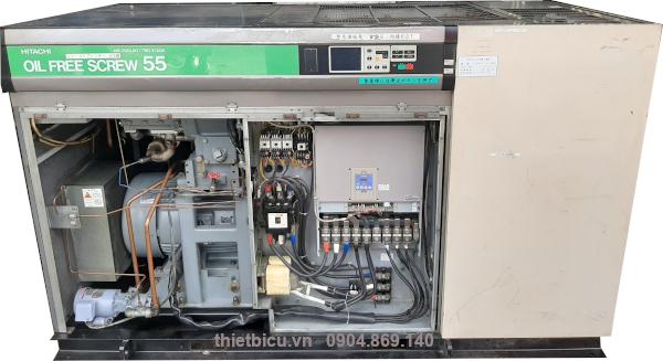 máy nén khí không dầu 55 kw dùng cho thực phẩm dược phẩm điện tử