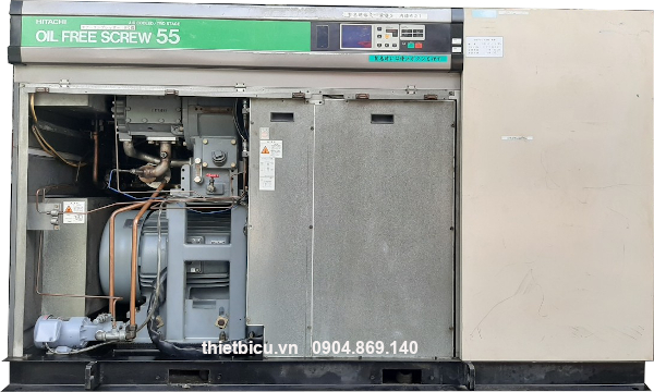 bán máy nén khí không dầu 55 kw có sấy khí giá rẻ