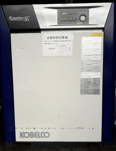 bán máy nén khí trục vít cũ Kobelion SG230AD
