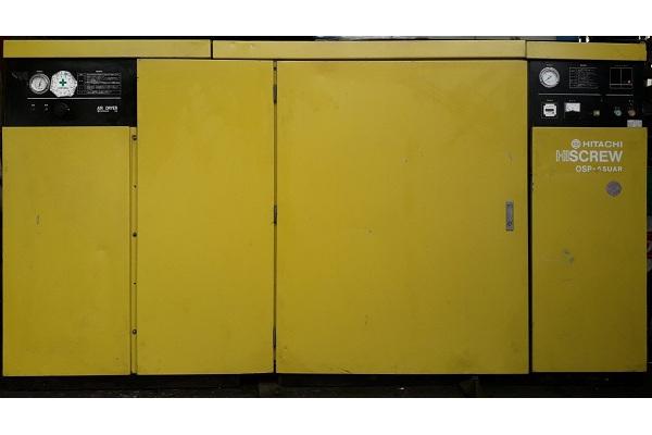 bán máy nén khí cũ trục vít Hitachi 55 kW có tách ẩm