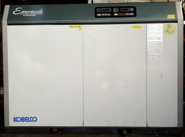 bán máy nén khí trục vít cũ hàng Nhật Kobelco 37 kW