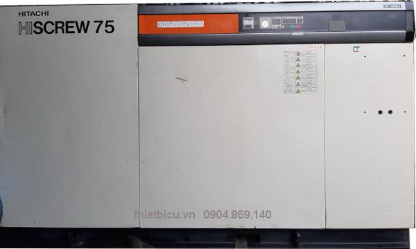 bán máy nén khí Hitachi 75 kw có sấy khí tách ẩm