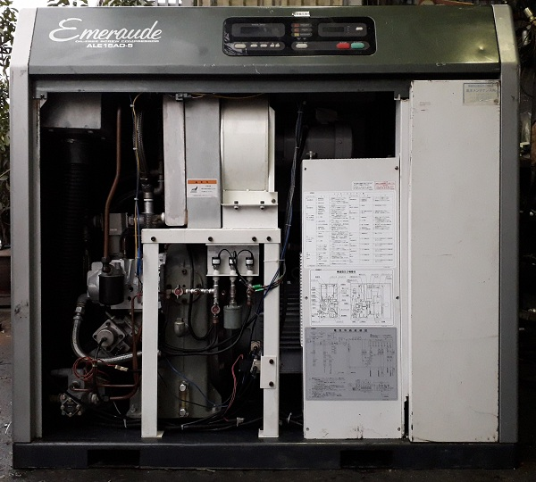 Máy nén khí không dầu Kobelco 15 kw có tách ẩm