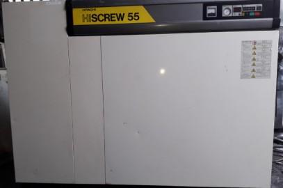 MÁY NÉN KHÍ CŨ LÀM MÁT BẰNG NƯỚC HITACHI OSP-55M5WR