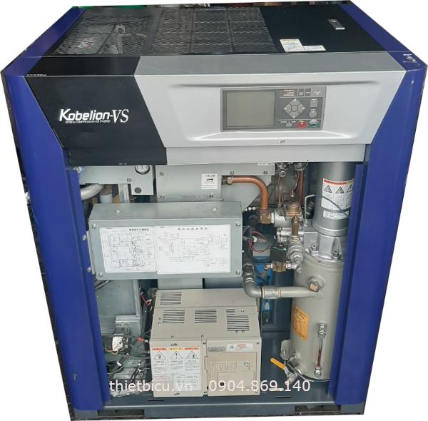 bán máy nén khí trục vít cũ hàng nhật bãi, biến tần inverter