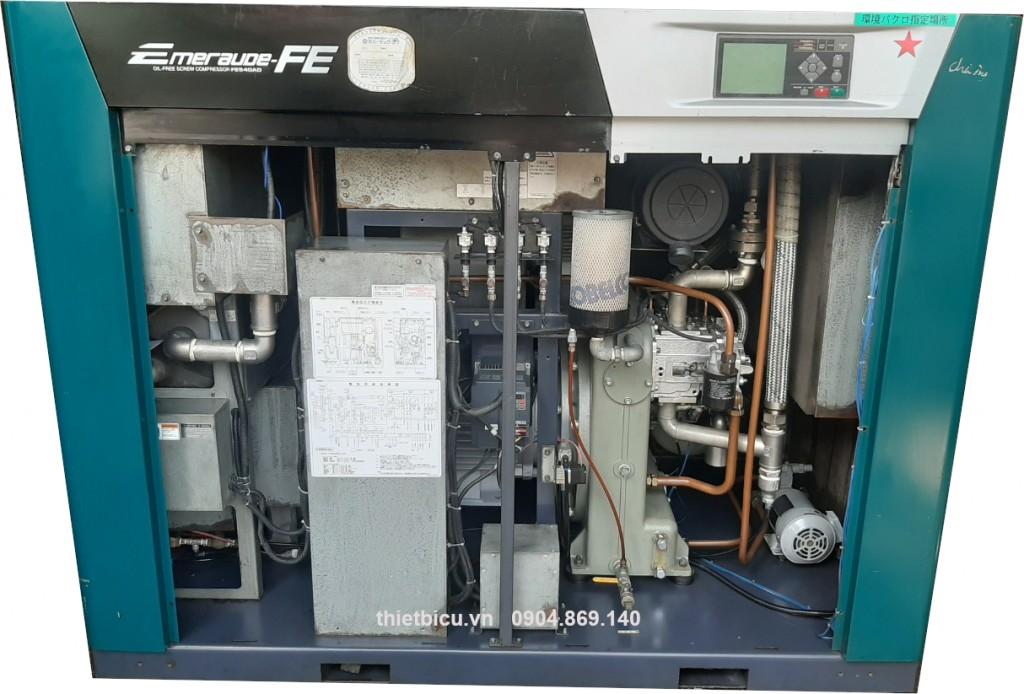 máy nén khí không dầu 37 kw oilfree japan air compressor