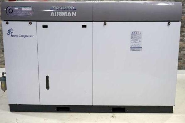 bán máy nén khí cũ đời cao 75 kw airman sas75sd