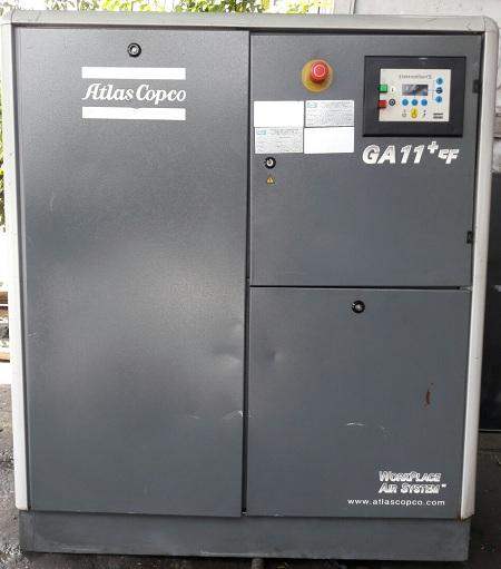 bán máy nén khí cũ Atlas Copco GA11+FF