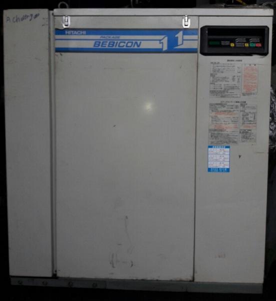 Bán máy nén khí cũ Hitachi 11 kW dạng piston