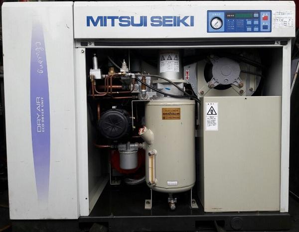 máy nén khí trục vit mitsui seiki 11 kw giá rẻ, chất lượng trên 90%