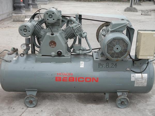 bán máy nén khí cũ dạng piston hãng Hitachi tại Nam ĐỊnh