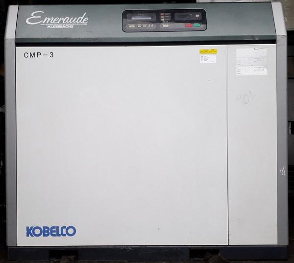bán máy nén khí không dầu kobelco 22 kw hàng Nhật Bản emeraude ale 22ad